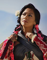 Singer Lila Downs